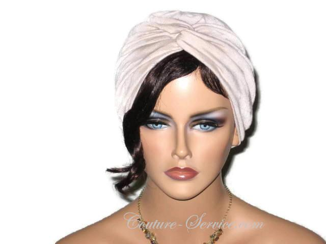 Handmade Tan Twist Turban, Crinkled Rayon http://bit.ly/2QHwOOA #Shopify #CoutureService #FullTurban