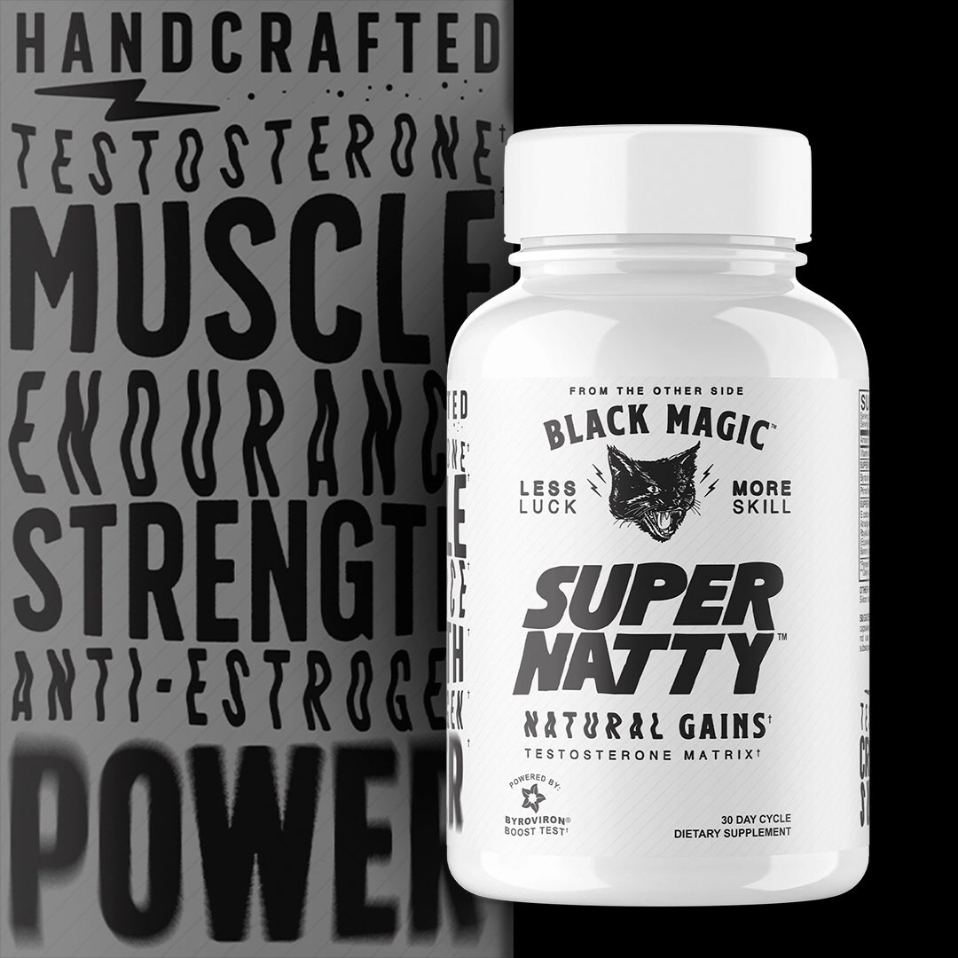 Increase your natural testosterone levels with Super Natty⠀ ⠀ Handcrafted with the purest ingredients that will give you the strength and endurance to push your gains to the next level ⠀ ⠀ pic.twitter.com/H5ZFC8uSHJ