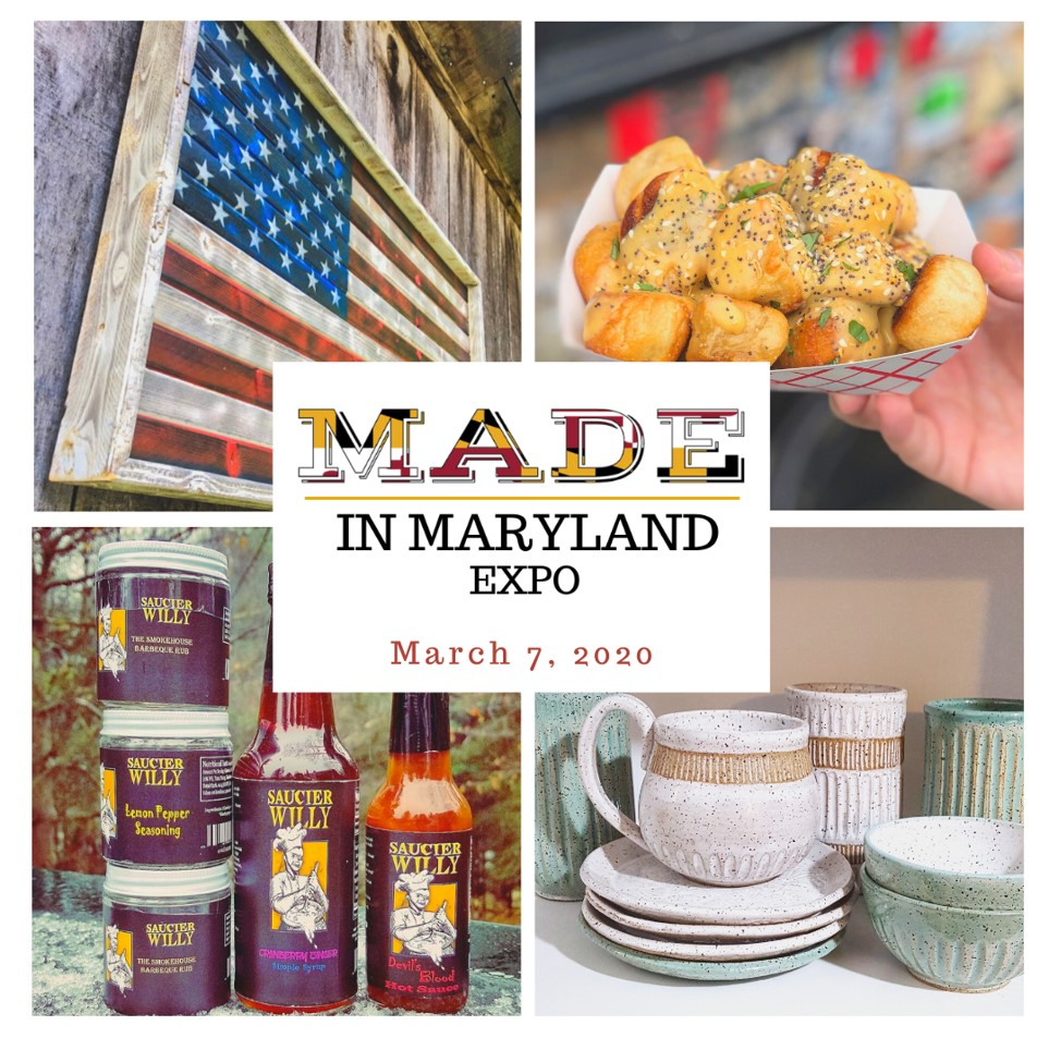 Find Maryland made products all under one roof! #entertowin a pair of tix to the Made in Maryland Expo on March 7 at Howard County Fairgrounds! #MarylandMondays contest runs through March 1. Must be 18+ to enter. Winner notified via email. https://t.co/dWJBrxgqAp https://t.co/7E14wRWYBZ