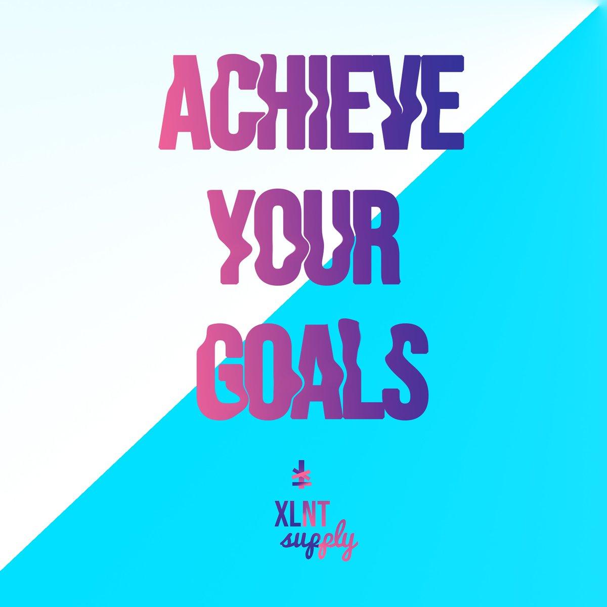 ACHIEVE YOUR GOALS!!! #xlntsupply #xlntsquad #achieveyourgoals #dailymotivation #doitforyourselfpic.twitter.com/YG773zbAF3