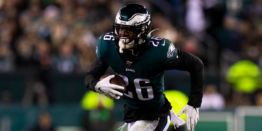 1,327 total yards and 6 TDs for the @Eagles rookie. 🦅 @BoobieMilesXXIV BEST plays of 2019!