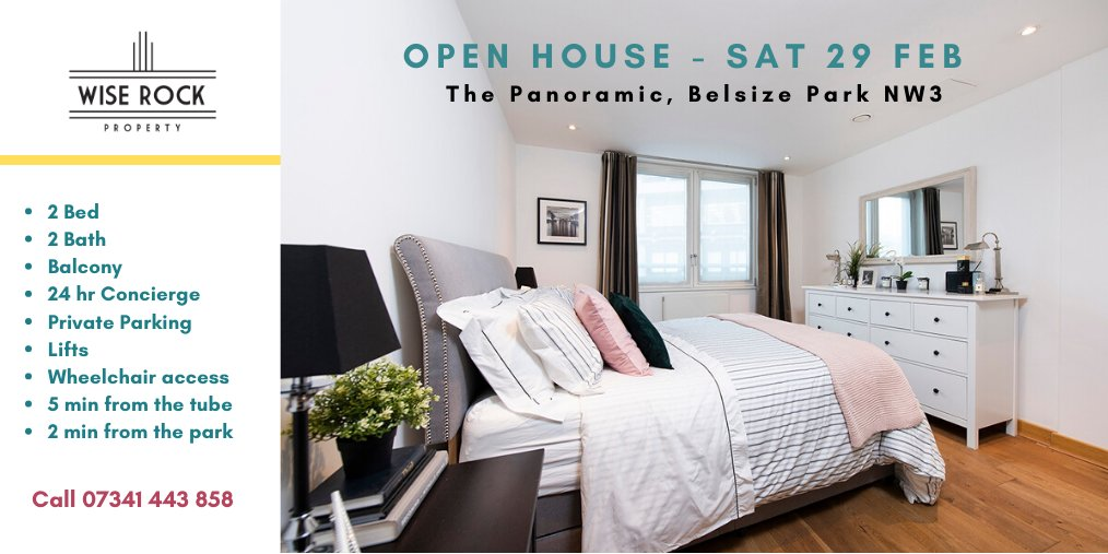 Come to our Open House Day this sat 29th Feb and view this contemporary 2 bed flat for sale in London NW3 - perfect for those who love modern comfort and architecture! http://bit.ly/2weBN2Q  #northwestlondon #london #hampstead #belsizepark #northlondon #luxuryproperty #parkingpic.twitter.com/YdJTxXFqog