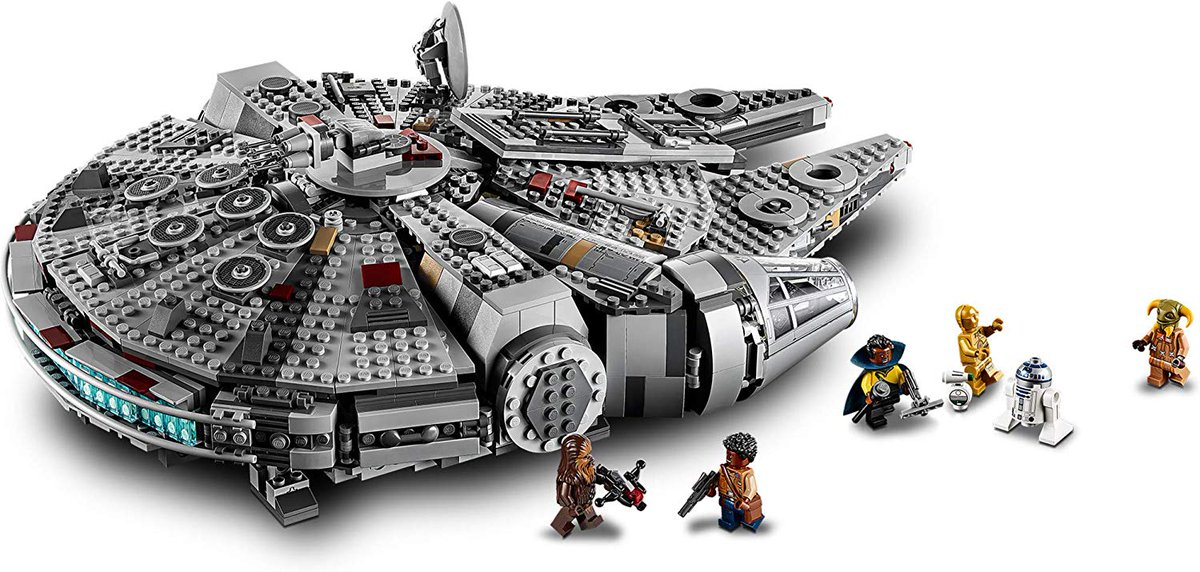 Pluscompare Com On Twitter Lego Star Wars The Rise Of Skywalker Millennium Falcon 75257 Starship Model Building Kit And Minifigures 1 351 Pieces Https T Co P6zzrsgjys Starwars Millenniumfalcon Riseofskywalker Lego Legos Build Create