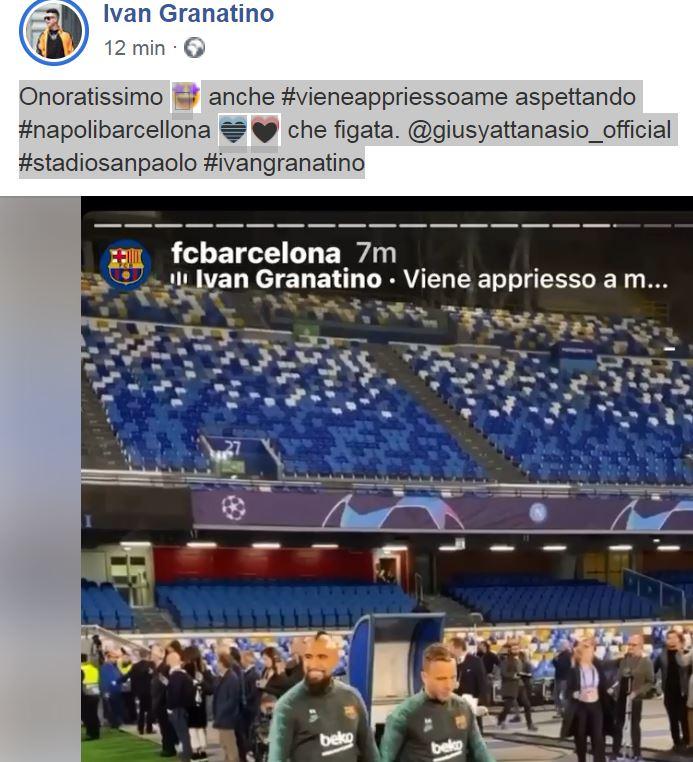 #NapoliBarcellona