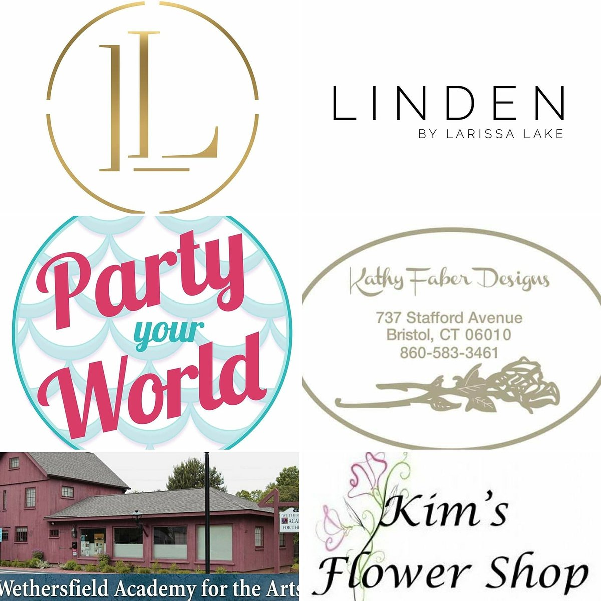 Vendor Spotlight Feb. 29th Bridal Showcase. Prepare to be inspired! Larissa Lake and Co Linden by Larissa Lake Kim's Flower Shop Party Your World Wethersfield Academy for the Arts Kathy Faber Designs Sunshine Entertainment/DJ Chris Hookie   #ctweddings #oldwethersfield pic.twitter.com/2T0ndB6vZg