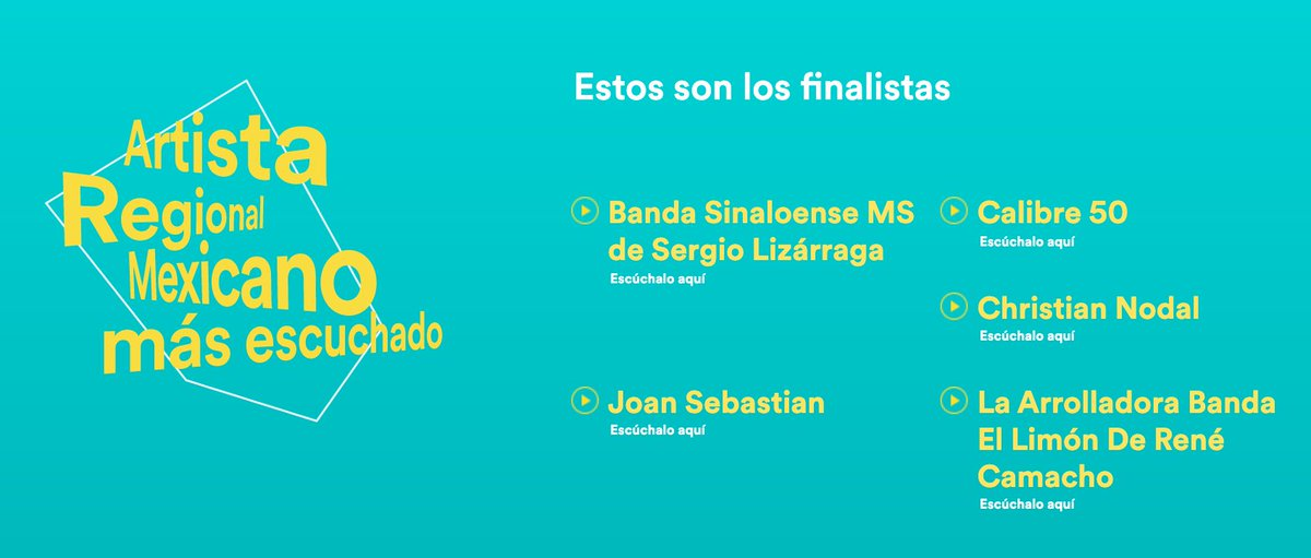 Artista Regional Más Escuchado - Joan Sebastian ¡Muestra tu apoyo reproduciendo, compartiendo y siguiendo en Spotify a este gran cantautor nuestro! (cc:@JoanSebastian) This is Joan Sebastian: https://found.ee/wjHDpic.twitter.com/tEsRsLOehS