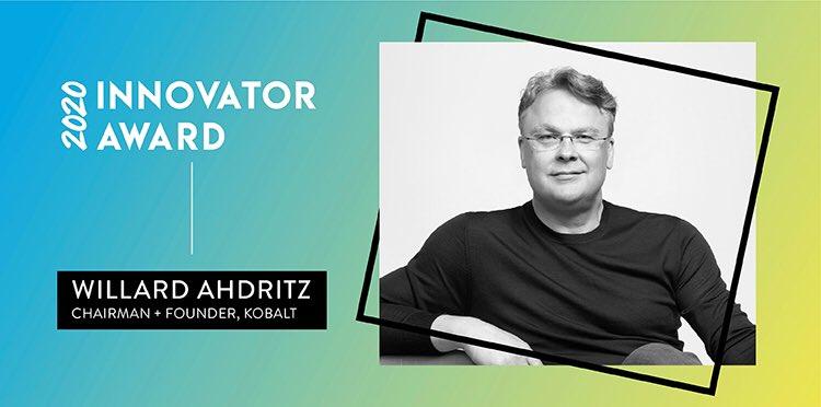 We can't imagine anyone more deserving. Congratulations, @WillardAhdritz!