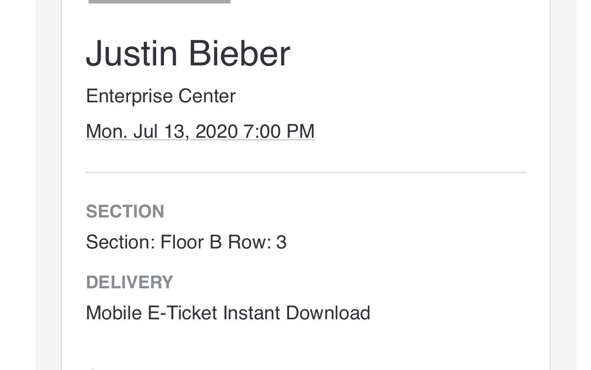 Excited to see @justinbieber for the second time🎊 I know this tour is gonna be amazing😍 #CHANGESOUTNOW #changesalbum