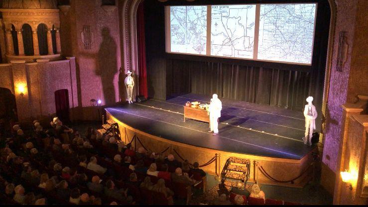 """AMON! The Ultimate Texan"" at the Historic Paramount Theatre in Abilene was a SUCCESS!! We'll keep you posted on where he'll go next!! #AmonOnTour #dfwtheatre #dfwevents #fortworthevents #dfwentertainment #livetheatre #artisancentertheater #familyfun #makemagichappenpic.twitter.com/6mQCfqM61C"