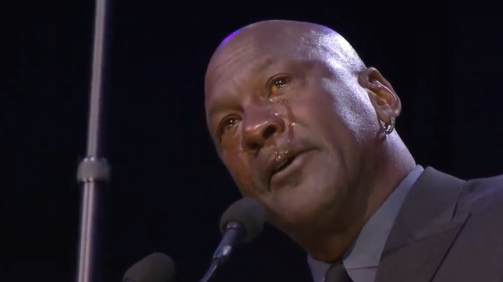 "Michael Jordan acknowledges he has now given the world another ""crying Jordan"" meme  https://www.latimes.com/sports/liveblog/kobe-bryant-memorial-live-updates  …"