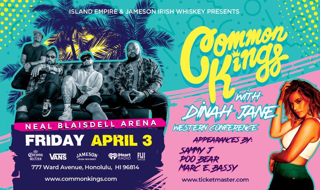 ATTENTION HAWAII This ones for you!!! 808 State, STAND UP!  Tickets AVAILABLE NOW!!! Link in Bio! Can't wait to rock out with you HAWAII NEI! APRIL 3rd, ALL AGES #CommonKingsAndFriends   https://fanlink.to/apr3_honolulupic.twitter.com/se18YQ85PK
