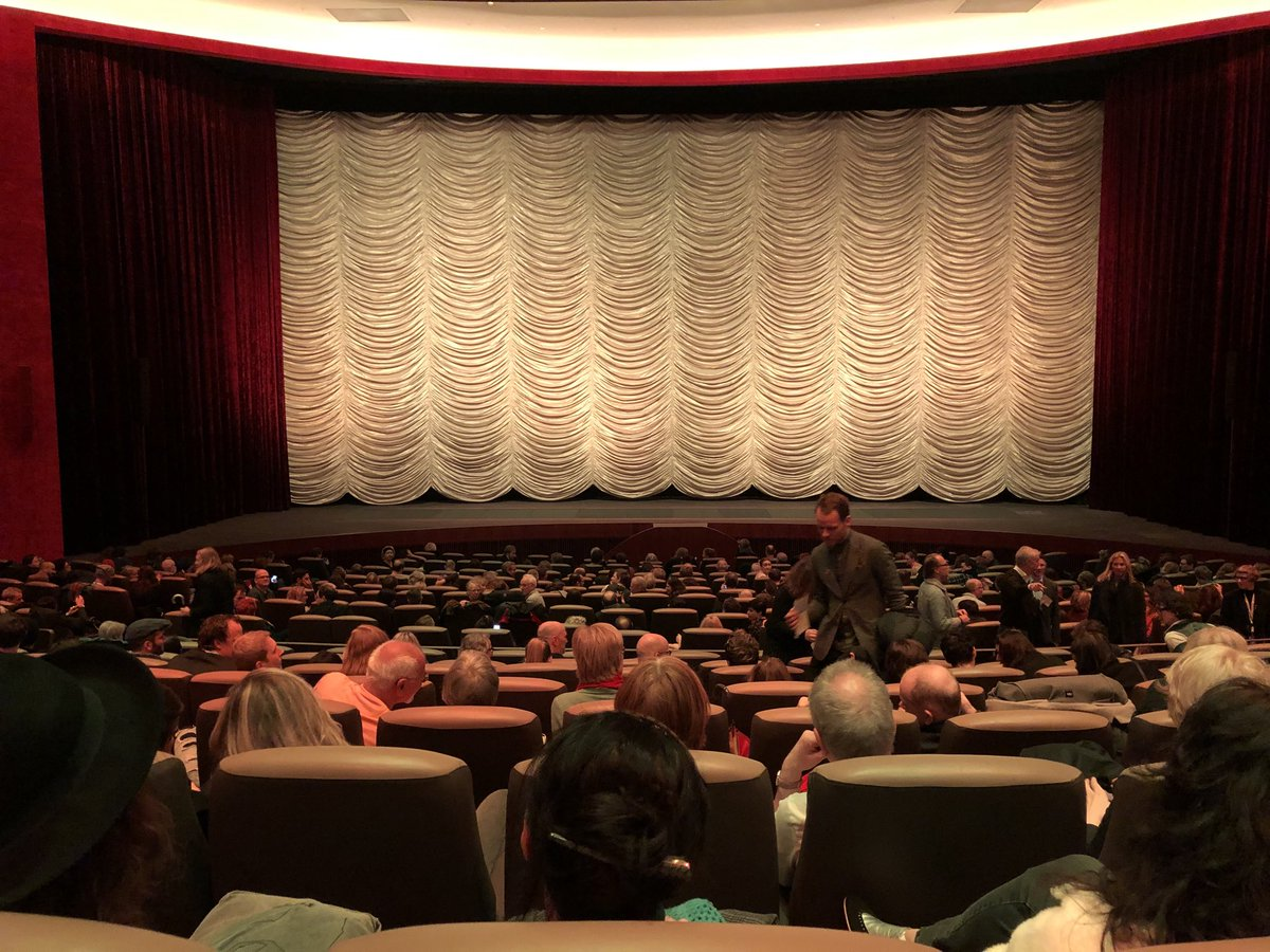 Full house at the #FREUD World Premiere @berlinale tonight. And this is only the view from my row, the other half of the audience is behind me !<br>http://pic.twitter.com/iaQNSgd6B1