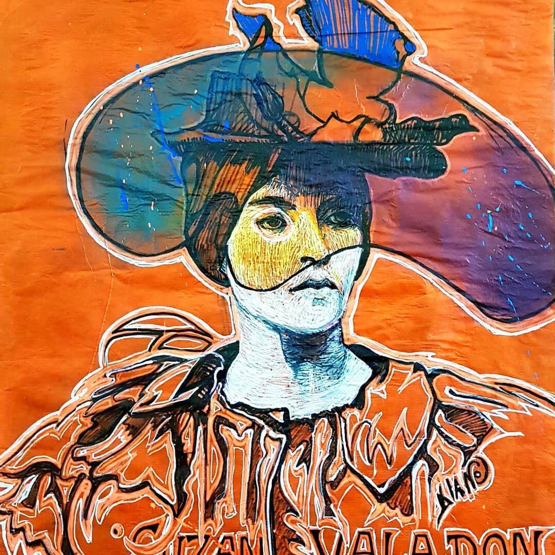 Ma #lundioeuvredart est une création réalisée par une street artiste, #DianeDELAROQUE. Dans le cadre du @streetarttourfr elle a choisi d'honorer une femme, #SuzanneVALADON, peintre du XIXe siècle. Bravo Diane j'❤️ #streetart #contemporaryart #art #culture  http://tlivrestarts.over-blog.com/2020/02/suzanne-valadon-honoree-par-diane-de-la-roque.html…