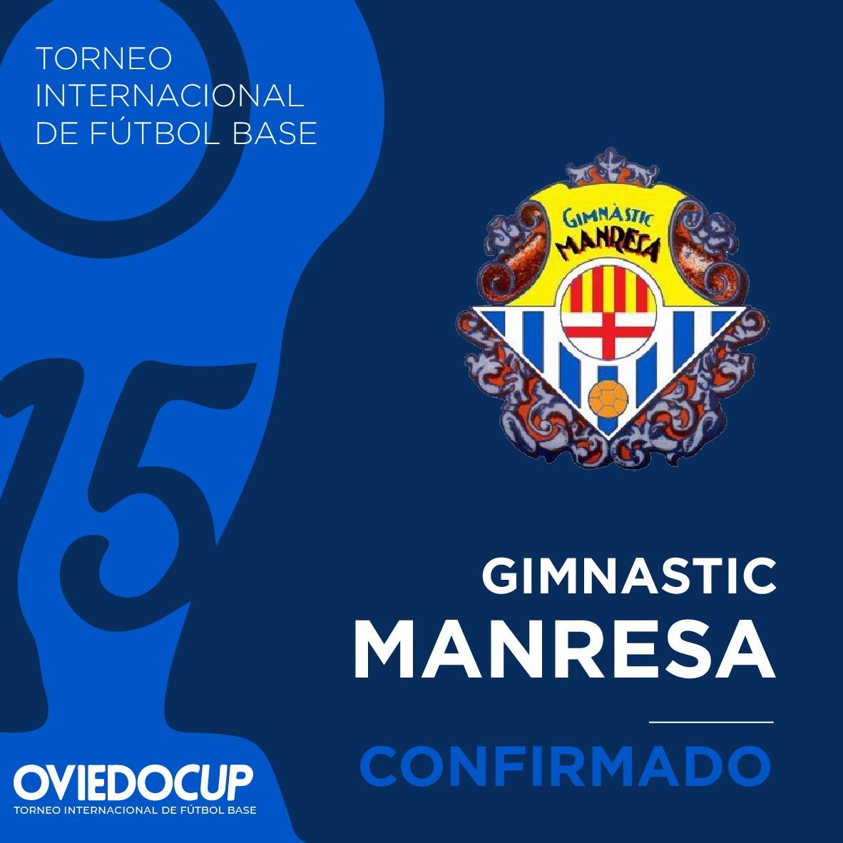   EQUIPO CONFIRMADO  ¡¡Celebramos que el club catalán estará presente en esta edición de la #OviedoCup2020!! @nasticmanresa  #TorneoInternacional #FútboBase #OviedoCup #XVEdición #SemanaSantapic.twitter.com/4UBCNqTfDG