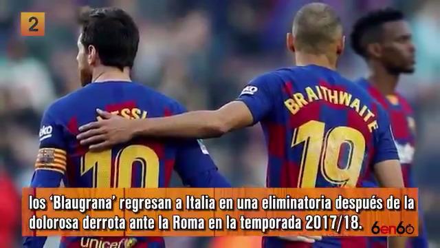 ¡Continúa la acción de los octavos de final! Ahora les toca al @FCBarcelona_es y al @realmadrid. Te contamos más en #6en60. ⚽🔥 #UCL