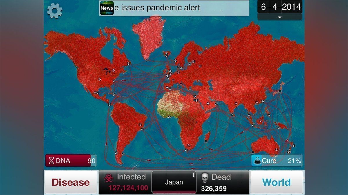 Players Urged to Avoid Plague Inc. Game for Information on Coronavirus   wnep.com