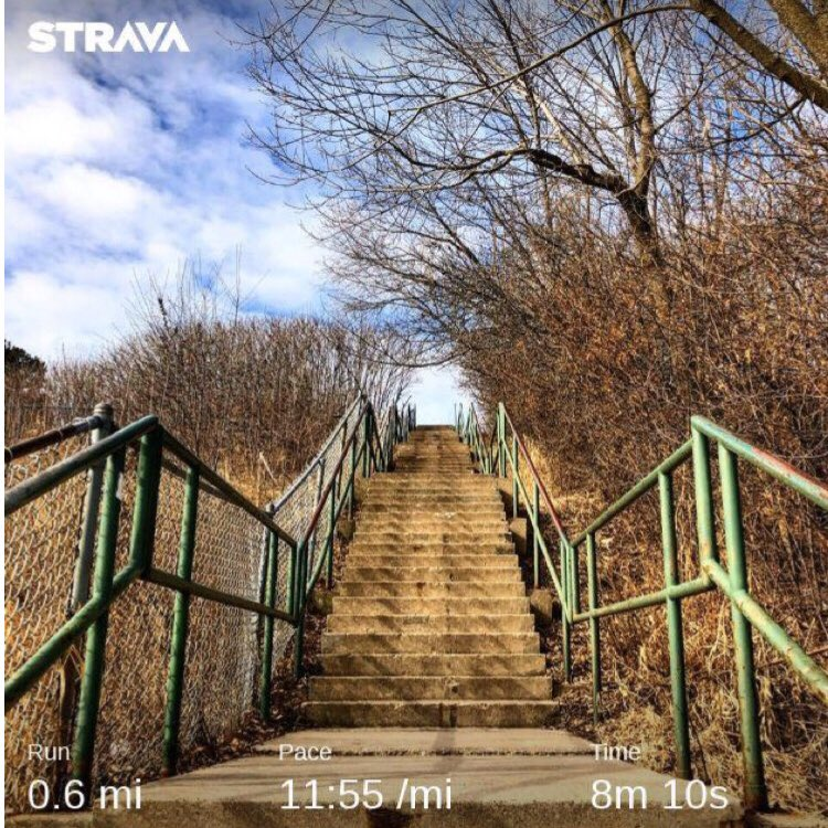 10 trips up & down the stairs by the North Point Water Tower for a total of  40 flights . . . #ourcycleoflife #run #running #runnerlife #instagramrunner #optoutside #strava #runhappy #stravarunning #runningmotivation #motivation #letsgo #runmkepic.twitter.com/HlXTiKDway
