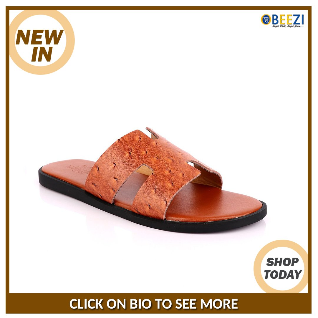 link on Bio Links to See more Serch On Website: Hermes Paris Leather Slipper-Brown Price: N22,999 #Obeezi #ObeeziFashionMall #ObeeziBlackFriday #ObeeziFashion http://ow.ly/8dKe30qk0ZRpic.twitter.com/twYZGIjQMn