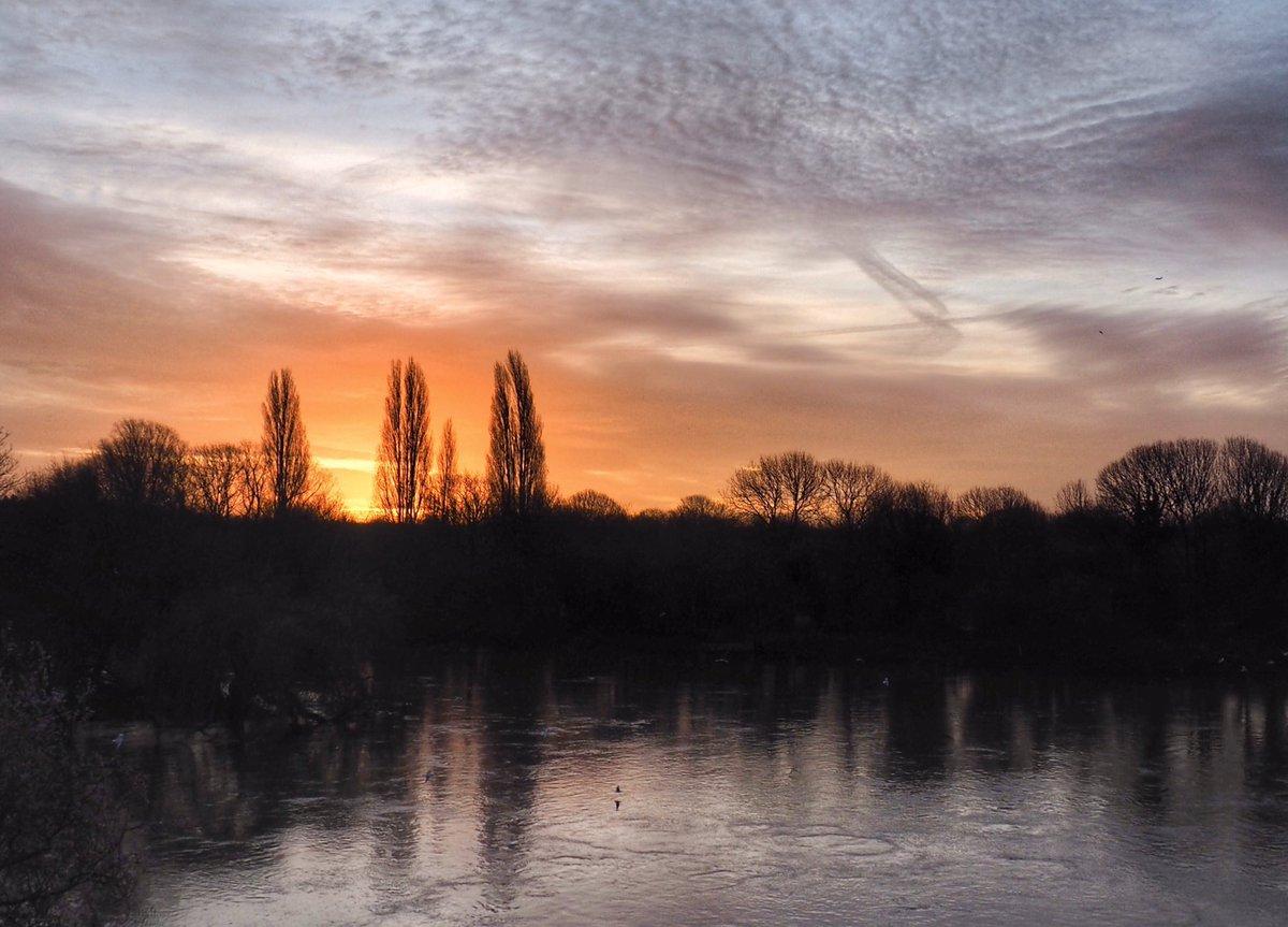 Sunrise at Twickenham 20/02/20 #StormHour #StormHour #POTW