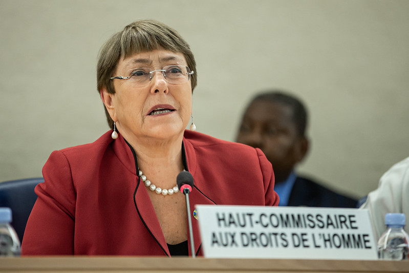 We need to be clear that every violation of someone's human rights threatens the rights of all. Human rights are what bond us together.   -- @UNHumanRights  Chief @mbachelet  at Human Rights Council.  http://ow.ly/PqXg50yucWu   #StandUp4HumanRights