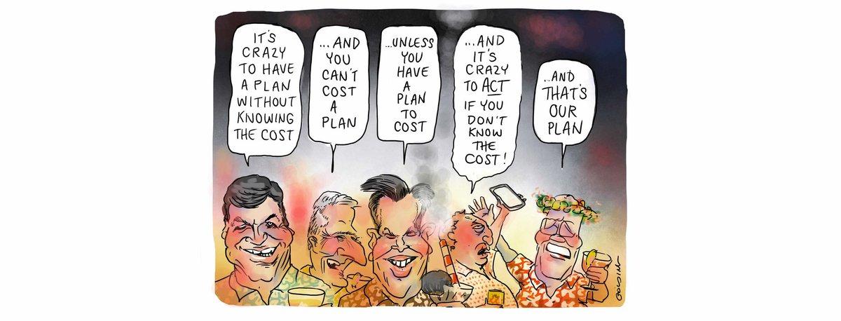 The plan. Today's @theage @smh cartoon. #auspoI