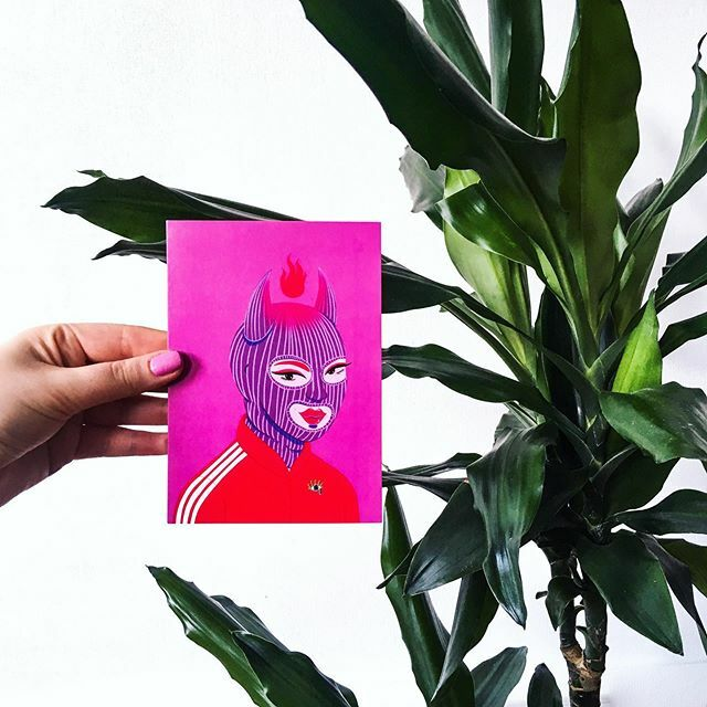 cool my postcard and @tyymes  plant. best combo !  . . this and other cool postcards are at my etsy  . . . #illustrationart #drawing  #sketching #doodles #illustrator #vilnius #kaunas #etsysuccess #womenartist  #ipad2018  #procreate #procreatedrawi… https://ift.tt/2v1n4Ippic.twitter.com/iIMxWMcqBn