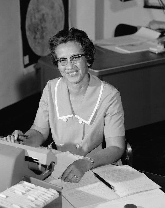 의 미디어: RIP Katherine Johnson, thank you for blessing NASA and the world with your gifts and making Virgini