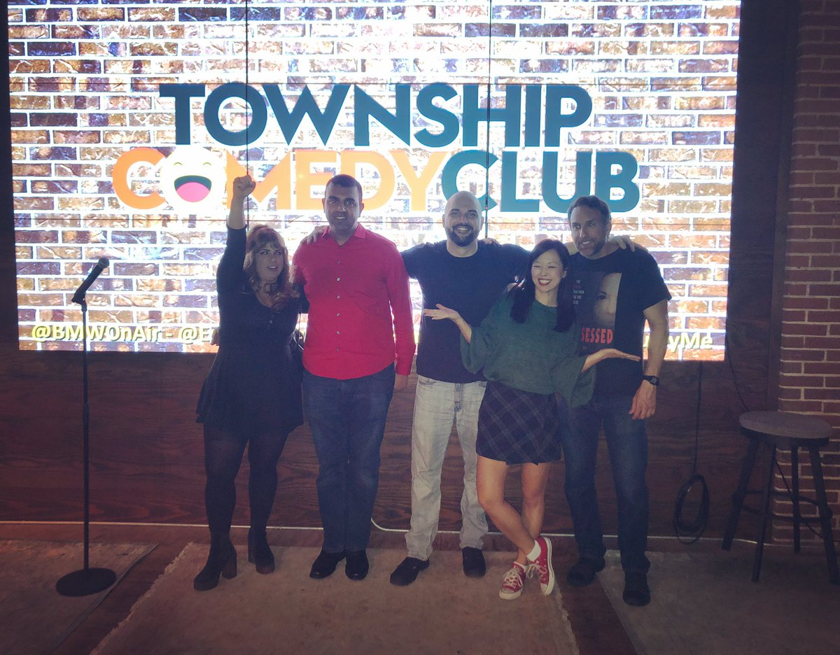 About last night..... @EstherKuKu @CarlRimi @Fasilicious @PAULEYME slayed the @TownshipFTL Comedy Club stage. Thank you so much to everyone who came out! It feels great to know people see and support what we're trying to do with comedy in South Florida. Till next month... pic.twitter.com/YfCzNWXRiR – at Township
