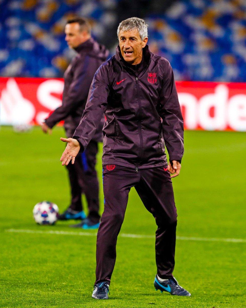 El fútbol que tanto amo me regala esta vez un día de Champions lleno de pasión en un escenario mágico como San Paolo. ⚽️⚽️