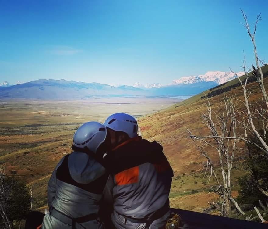 Es que, a veces, el amor es la única aventura que realmente vale la pena#instatravel #celebratelove #elcalafate #argentina #patagonia #tierradeaventuras #aventura #adventuretime #nature #travel #vacaciones #instamood #instamoment #love #photography  #picoftheday #elcalafatepic.twitter.com/PSqJdlSMMY