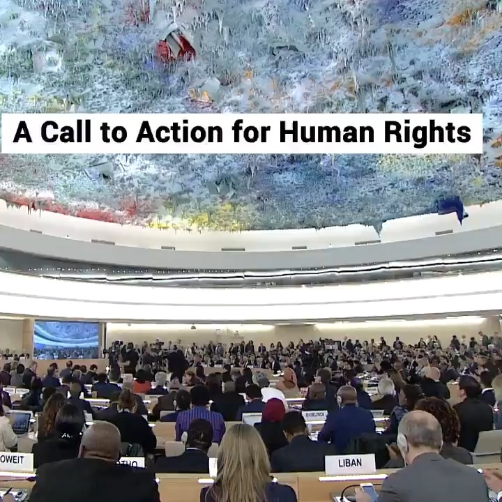 Human rights are about the dignity & worth of the human person. They expand the horizons of hope, enlarge the boundaries of the possible & unleash the best of ourselves & our world.  -- @antonioguterres  at the Human Rights Council.  http://bit.ly/3c90zC7