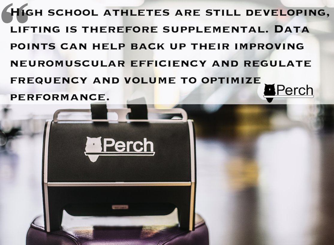 A new blog is up! VBT and the High School Athlete. Take a read through and let us know what you think! https://buff.ly/2T9y6Du  . . . #perch #strengthandconditioning #strengthtraining #strengthcoach #velocitybasedtraining #weightlifting #powerlifting #olympiclifting #athletespic.twitter.com/8hkusOAVQ2