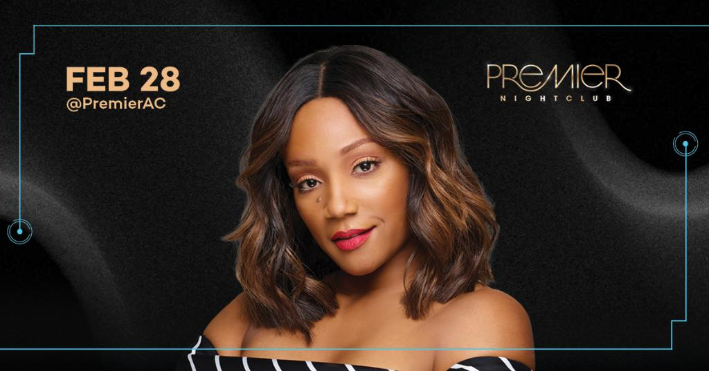 She ready! Are you? Join her at #PremierAC after her show in The Event Center on Friday, February 28. Tickets: https://t.co/OAZHDTMWxi https://t.co/UoTUHz7sAo