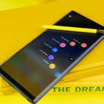 Image for the Tweet beginning: Galaxy Note9 update with One