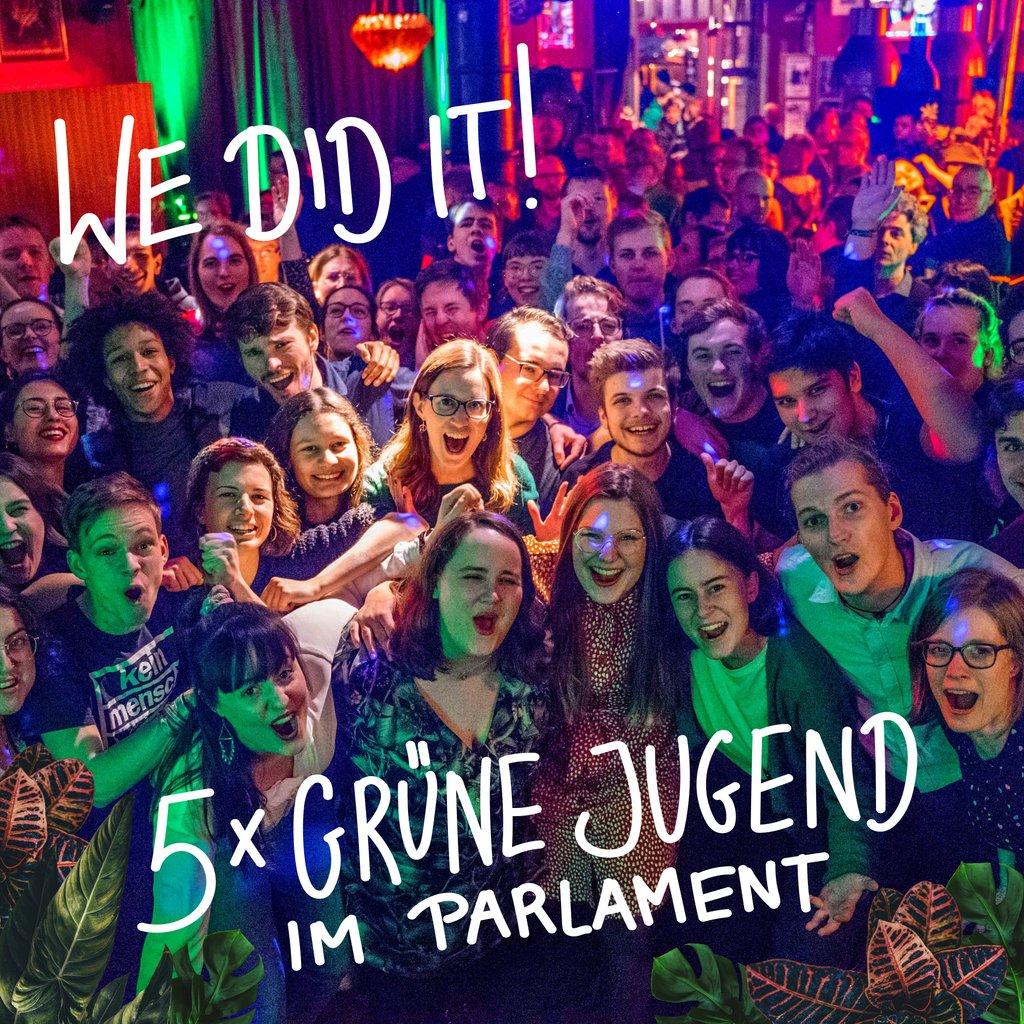 Nun ist es wohl (so ziemlich) offiziell. Ich und viele andere wunderbare junge Menschen gehören der nächsten Hamburgischen Bürger*innenschaft an. Vielen Dank für eure Stimmen! #hhwahl20 #diezeitistjetzt #stilllovingvisionspic.twitter.com/9814h5cZlz
