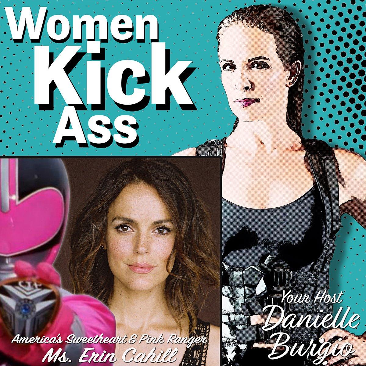 Buckle UP! UR in 4 a ride as @DaniBurgio1111 speaks with #AmericasSweetheart & original #PinkRanger #PowerRanger @theErinCahill on the #WomenKickAss Podcast about career, feminine & powerful,  so MUCH more: https://directory.libsyn.com/episode/index/id/13096844…  #WomenInFilm #WomenInspiringWomen #BadASSWomenpic.twitter.com/78YXjdB8f1
