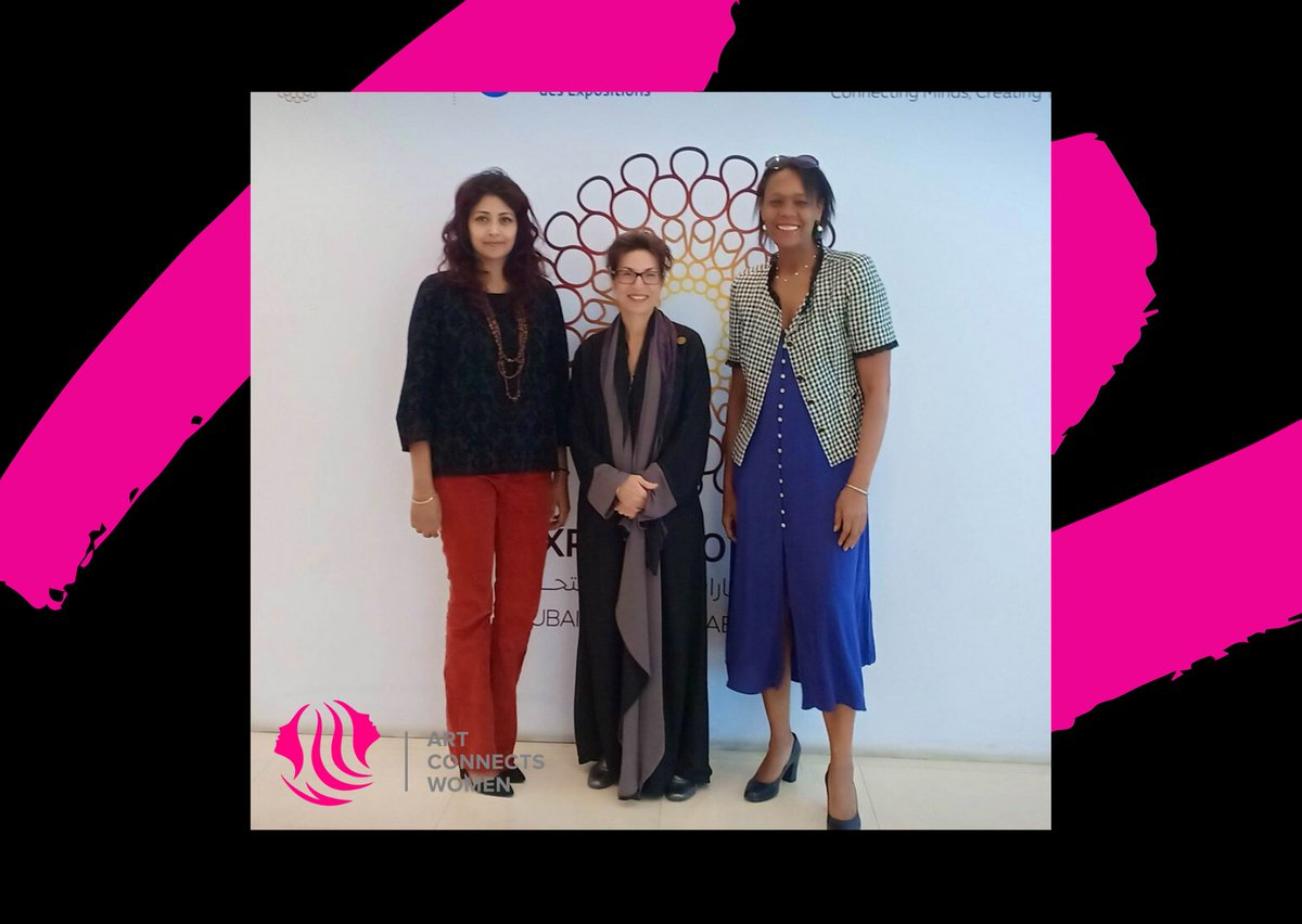 It is wonderful opportunity to meet Dr. Hayat Shamshuddin, the Senior Vice President of Arts & Culture at Dubai Expo2020; privilege to welcome her during the Art Connects Women 2020. @Dubaiexpo2020  #ZeeArts #DubaiExpo2020 #ArtconnectsWomen  #ArtBook #WomenArtist pic.twitter.com/tgeMsT6wZs