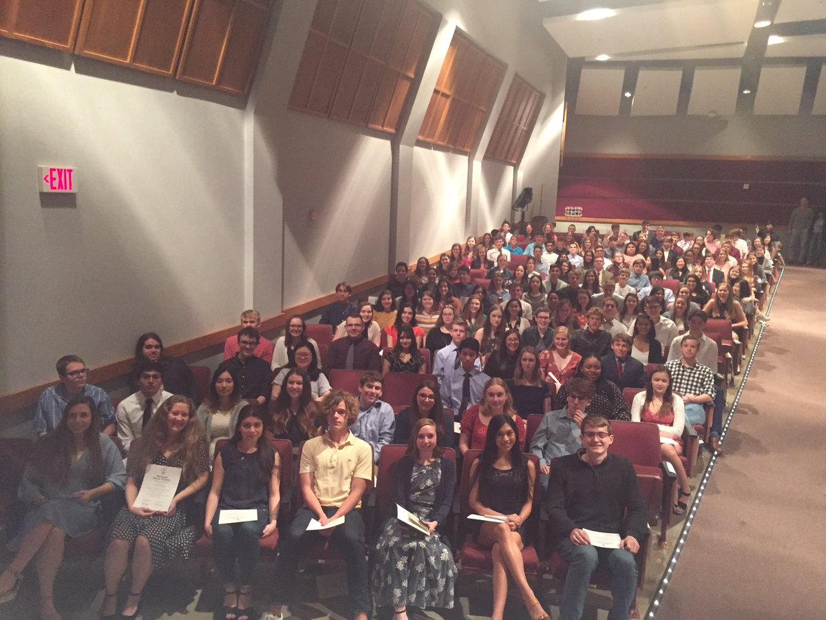 Congratulations to our 152 newest National Honor Society members @AMCHSWeb #BetterTogether pic.twitter.com/vebku84Wxs