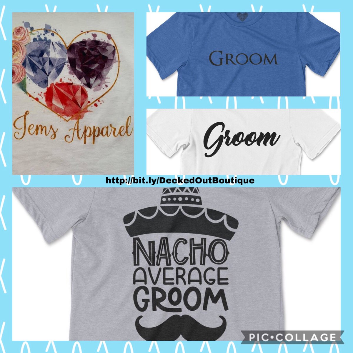 Wedding Collection ~ Groom  Printed on an ultra soft Heathered tee...Pre-shrunk...Unisex Fit...Designed Available in 15 colors...Sizes XS-2XL http://bit.ly/DeckedOutBoutique … #Mensfashion #unisexfashion #weddingcollection #groom #graphictee #shopping #shoppingonline #giftideas
