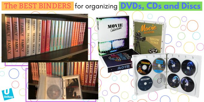The UniKeep CD/DVD storage binder and wallet pages provide a great solution for collecting and protecting your valuable disc collection. http://ow.ly/2qZw50yuNGk #moviecollection #hometheaterpic.twitter.com/dxq5XpDGDr