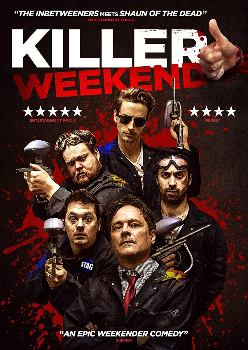 Watch my Review of Killer Weekend in my Weekly Shopping Guide for 02/25/20 https://youtu.be/CjGtsledwrQ  #killerweekend #movie #review #shopping #guide @darkskyfilms