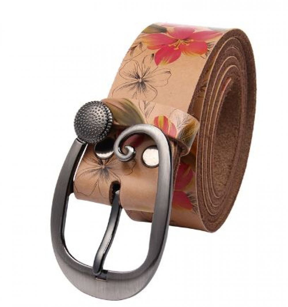 Women's Floral Printed Belt US $22.86/- Only  Click here to buy now   #fashion #love #amazing #look #followme #style #onlineshopping #shopping #swag #uberstyler