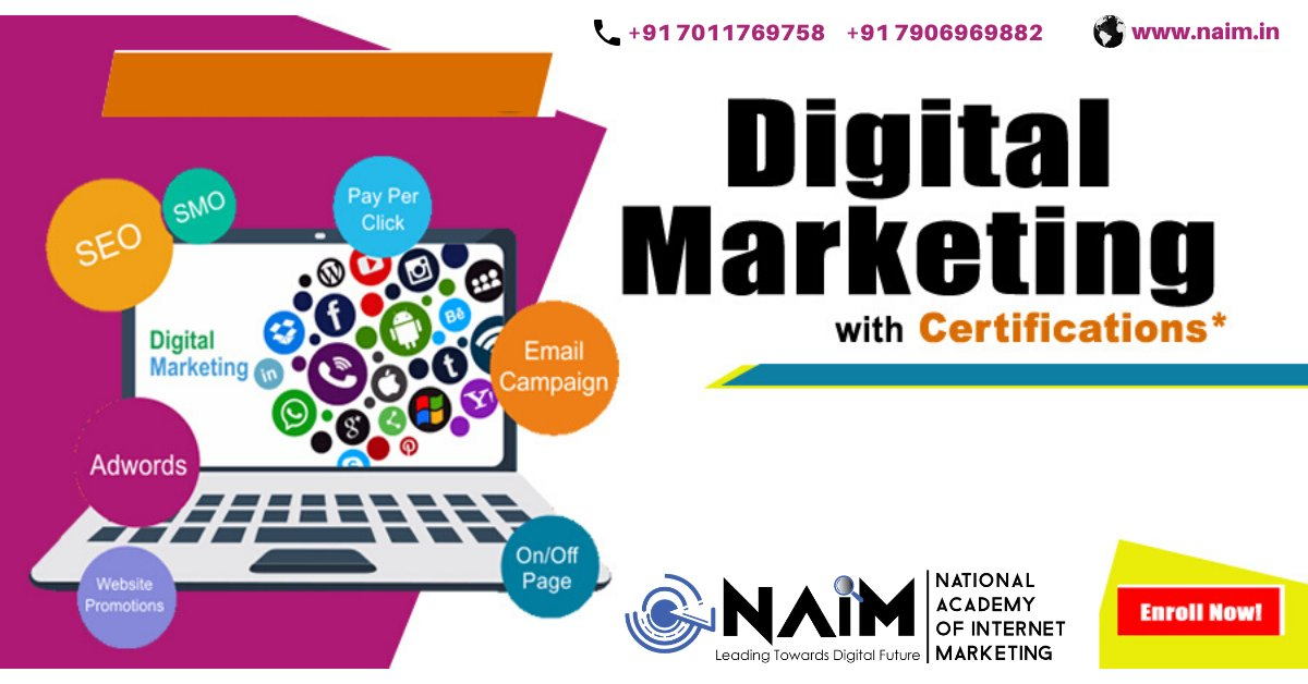 Get an Excellence in Digital Marketing with NAIM.  NAIM - Leading Towards Digital Future. http://www.naim.in   #naim #digitslmarketing #joinnaim #delhinaim #onlinemarketingtraining #professionalcoursepic.twitter.com/Cf0BkZZryj