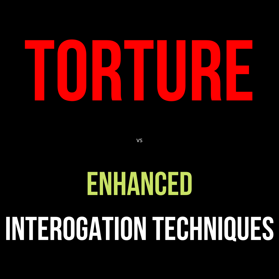 Torture vs Enhanced Interrogation Techniques. They both are referring to the same things, but invoke two different emotions.  #words #marketing #sales #closing #copy #copywriting #copywritingtips #improvewriting #business #ecom #ecommerce #shopify #dropshipping