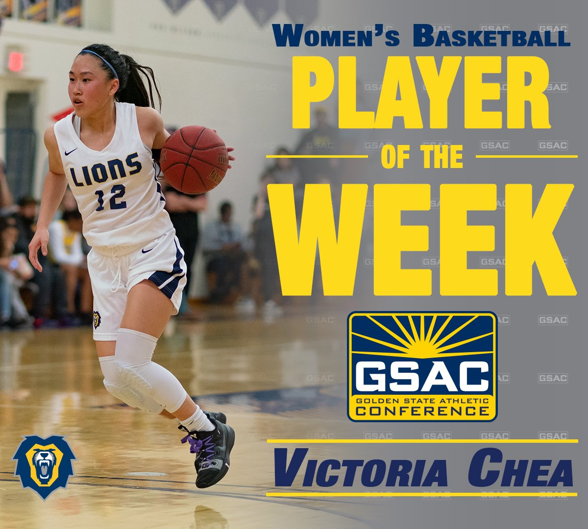 🏀 Players of the Week - Victoria Chea and Austin Dill led the way last week in the conference. Chea became the all-time assists leader at Vanguard this past weekend‼️ #POTW #NAIA #GSAC