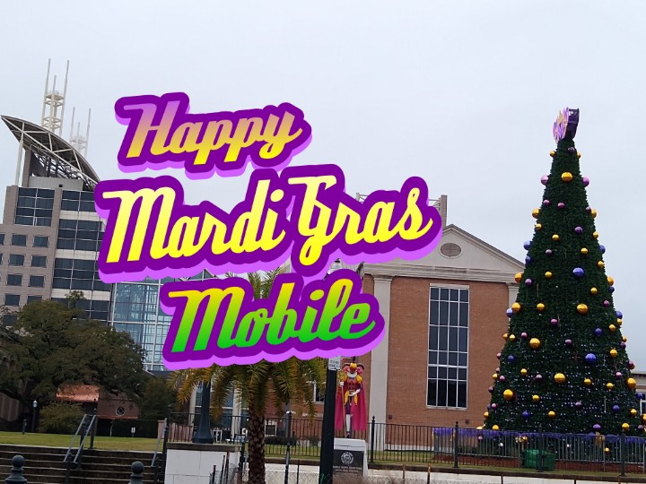 #infantMystics roll 6:30 from NEW  START spot ... Dauphin / Broad area, right next to @92ZEW at Crown Hall & Crooked Crown.  Happy #LundiGras  #MardiGras #MobileAL Laissez le bon temps roulier!pic.twitter.com/MVFv3J3bt0
