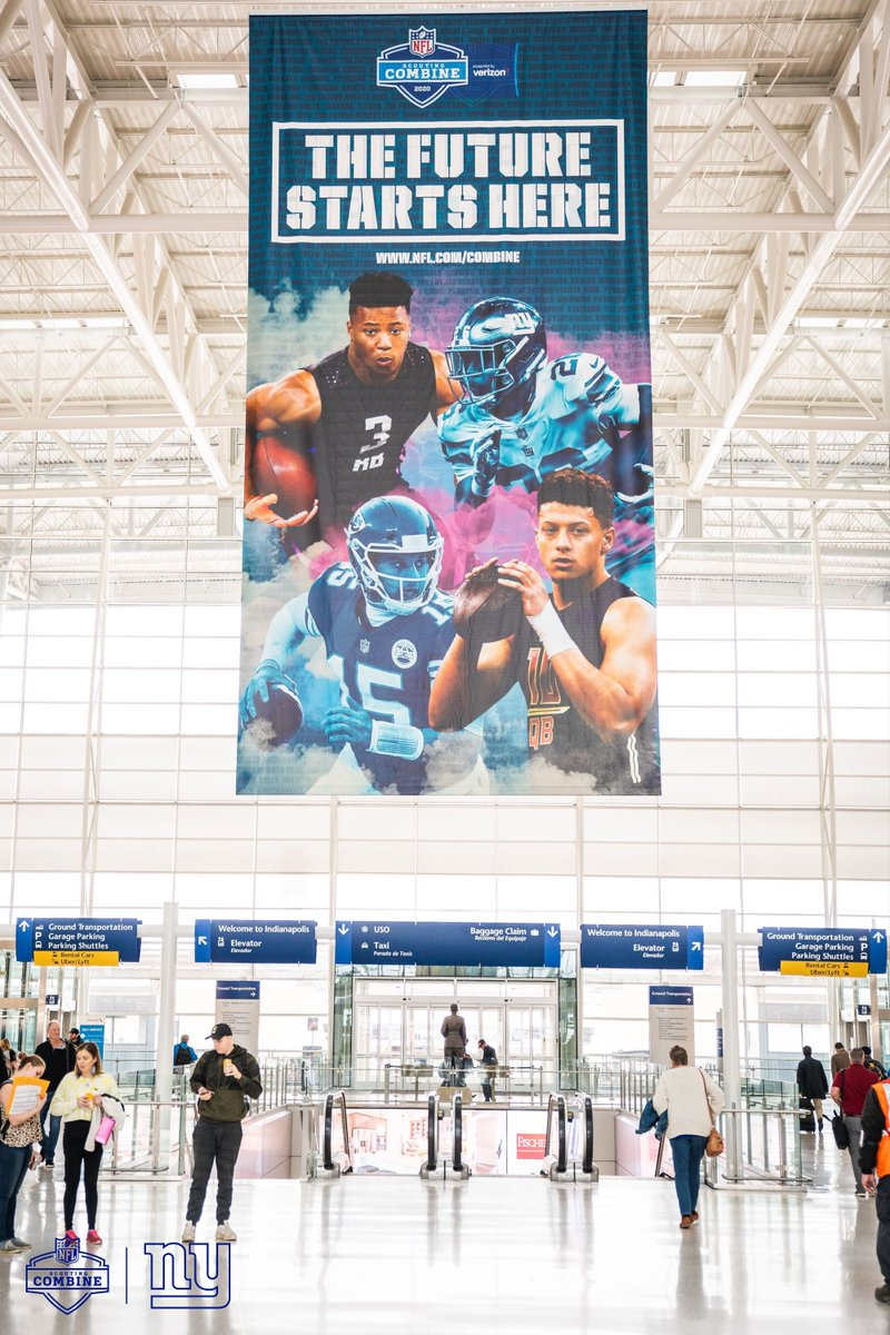 We see you @saquon 🤩 📍Indianapolis, IN   #NFLCombine