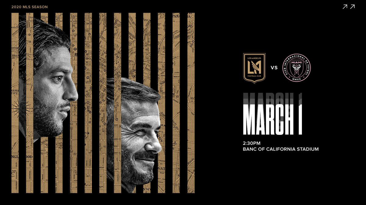 @LAFC3252 Join us at our season opener. 🎟️ lafc.me/38Vk2nN