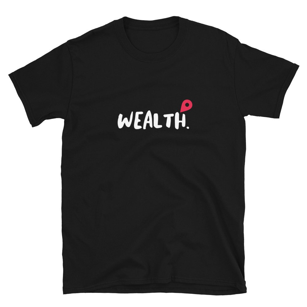 """""""WEALTH SHORT SLEEVE"""" out now!!  • • Like.Comment.Retweet. • • #Atlanta #Newyork #Pennsylannia #NewJersey #Texas #California #Drip #viral #explore #girlclothing #unisexclothing #clothingbrand #FILTHIMILLIpic.twitter.com/paY3lirG8h"""