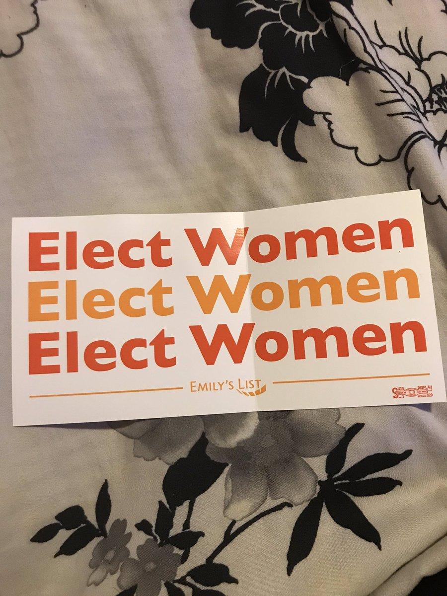 Yay! My new sticker! #ElectWomen #LiberalSnowflakeScumAndProud